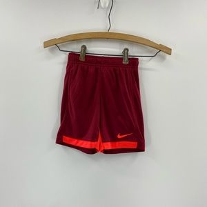 Nike DRY 'Red Crush' activewear shorts size 4t